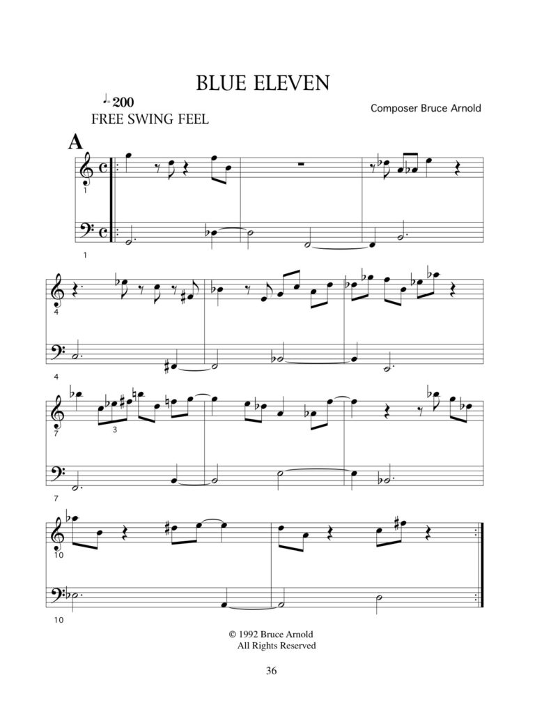 Blue-Eleven-23rd-chords-composition-by-bruce-arnold-for-muse-eek-publishing
