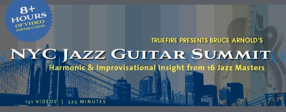Bruce Arnolds Jazz Guitar Summit NYC